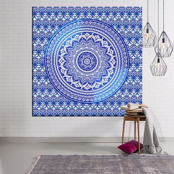 Tapestry Indian Compass 150x102cm-229x150cm Wall Blankets Beach Towel Decoration Mandalas Wall Hanging Tapiz Pared Tenture Mural
