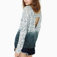 Marble Dip Knit