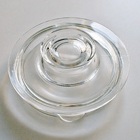 Pyrex Glass Lid Replacement Part Only for Glass Flameware 6 Cup Percolater Coffee Pot #7756