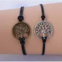 Bracelet---Tree bracelet---gift for BFF ---unique gift for braids
