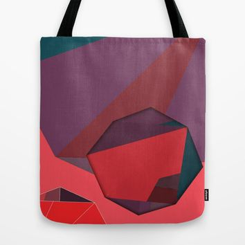 Shape Play 3 Tote Bag by Ducky B