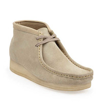 Wallabee Boot-Men in Sand Suede - Mens Boots from Clarks