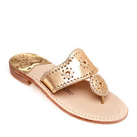 Jack Rogers Original Navajo Sandals Gold