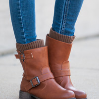 The Cathy Boot, Cognac
