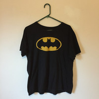 Batman T-shirt, Vintage Inspired T-shirt, 90s T-shirt, 80s T-shirt, Mystery T-shirt, 70s T-shirt, Unisex shirt, size extra large