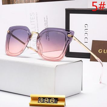 GUCCI Fashion New Polarized Sunscreen Couple Travel Eyeglasses Glasses