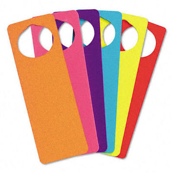 wonderfoam door knob hangers 6 asst colors Case of 6