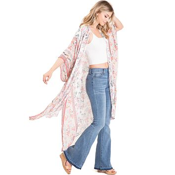 Floral Breeze Cardigan