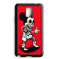 Mickey Mouse Wooden Samsung Galaxy Note 5 Case