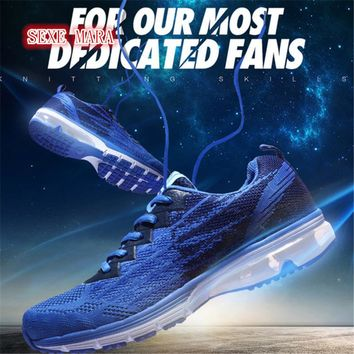 Men shoes 2017 Flywire Breathable Shoes air cushion Sports shoes Running shoes for women Summer Jogging N186