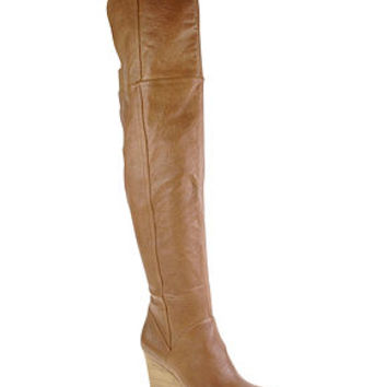 Chinese Laundry Shoes, Vera Cruz Over the Knee Wedge Boots - Shoes - Macy's