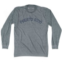 Puerto Rico City Vintage Long Sleeve T-shirt