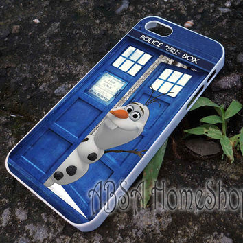 olaf open tardis case for iPhone 4/4s/5/5s/5c/6/6+ case,iPod Touch 5th Case,Samsung Galaxy s3/s4/s5/s6Case, Sony Xperia Z3/4 case, LG G2/G3 case, HTC One M7/M8 case galaxy
