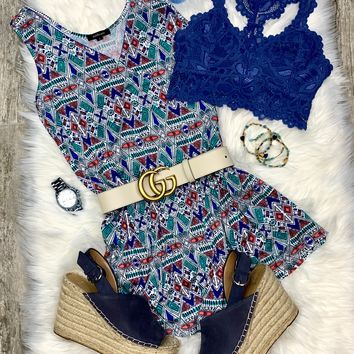 Light as a Feather Romper