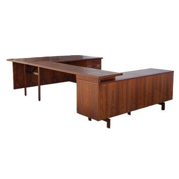 Pre-owned 1950s Robert John Work Station Desk