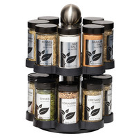 Kamenstein 16 Jar Round Madison Spice Rack
