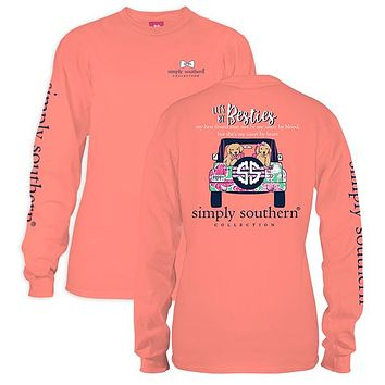 Simply Southern Long Sleeve Tee - Besties