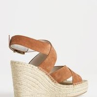 Wrapped Espadrille Wedge by KENNETH COLE