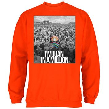Cinco de Mayo I'm Juan in Million Mens Sweatshirt