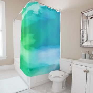 Aqua Dream Shower Curtain