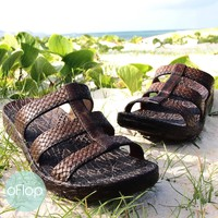 Brown Jaya Jandals ® -- Pali Hawaii Hawaiian Jesus Sandals