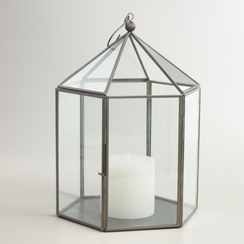 Antique Zinc Metal Riley Lantern