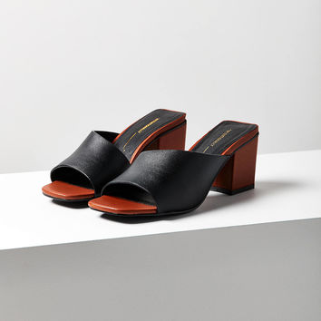 Intentionally Blank Roll Leather Heel | Urban Outfitters