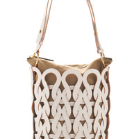 Woven Leather Shoulder Bag | Moda Operandi