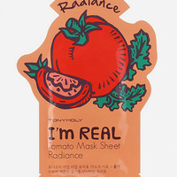 Tonymoly I Am Real Tomato Radiance Sheet Mask Tomato One Size For Women 27492795701