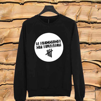 5SOS logo sweater Sweatshirt Crewneck Men or Women Unisex Size