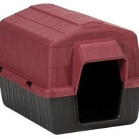 PetMate Barnhome III Dog House Size: X-Small Red/Black