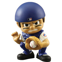 Chicago Cubs MLB Lil Teammates Vinyl Catcher Sports Figure (2 3/4 Tall) (Series 2)