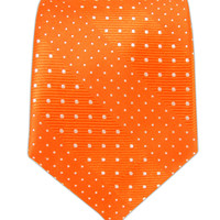 Pulsating Dots - Tangerine from TheTieBar.com - Wear Your Good Tie Everyday