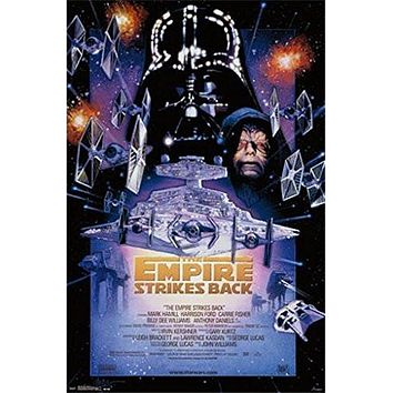 STAR WARS POSTER Darth Vader - Episode 5 NEW 22x34
