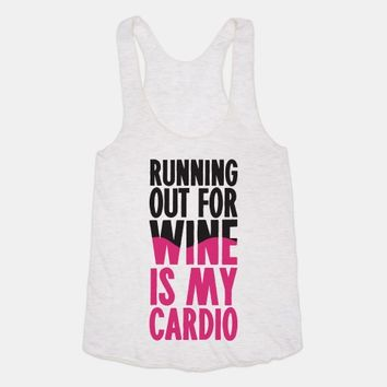 Running Out For Wine Is My Cardio
