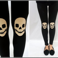 Sandysshop — Skull Leggings ON SALE