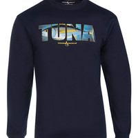 Men's Alpha Tuna L/S UV Fishing T-Shirt