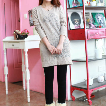 winter with cashmere lady wear leggings napped panty stockings was thin With velvet skinny slim warm foot pantyhose