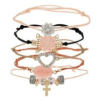 Pretty Mix Bracelet Pack - Miss Selfridge