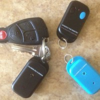 Where's the Remote? Key Finder, Wireless Keyfinder RF Transmitter item, Locator, Wallet, Pet, Cell phone