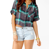 Oversized Plaid Shirt | HERITAGE 1981 - 2019570857