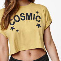 LA Hearts Cosmic Crop T-Shirt at PacSun.com