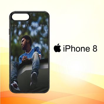 J Cole 2014 Forest Hills Drive  X4742 iPhone 8 Case