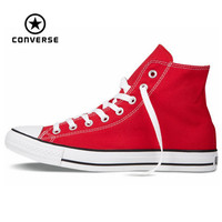 Original Converse all star shoes men and women's sneakers canvas shoes men women high classic Skateboarding Shoes
