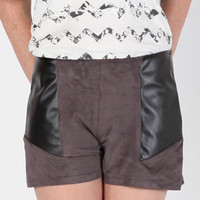 Best of Both Suede Shorts