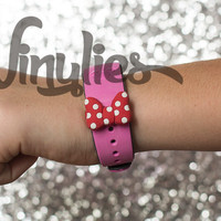 Minnie Bow Vinylies for Disney Magic Bands