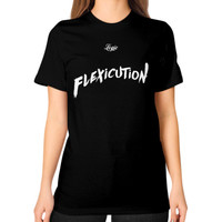 Flexicution Logic Unisex T-Shirt (on woman)