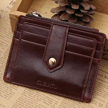 2017 New PU leather purse  With  Zipper Credit Card ID Holder Money Clip woman wallet  Portefeuilles de femme #Y5