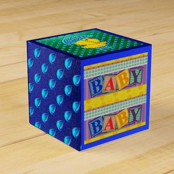 Thank You Baby Shower Party Favor Gift Box