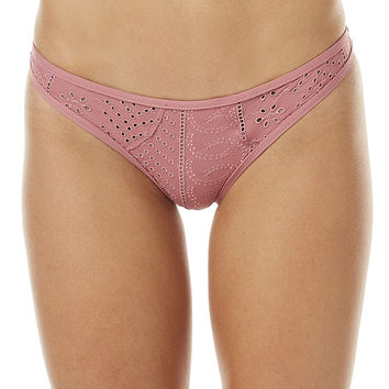 PEONY SWIMWEAR STAPLE SEPARATE PANT - DUSTY ROSE